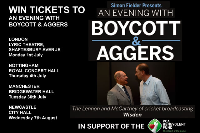 Win Tickets To An Evening With Boycott & Aggers