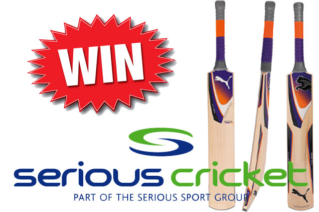 Win A Puma Calibre 6000 Bat With Serious Cricket