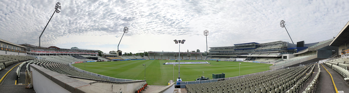The new Edgbaston stadium