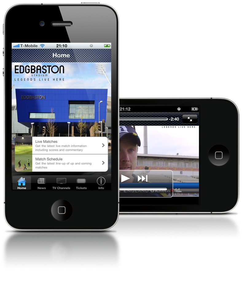 The new Edgbaston stadium app