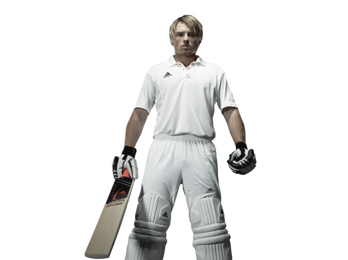 Ian Bell - new adidas range