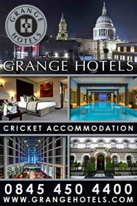 Grange Hotels - Cricket Accommodation