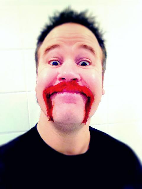 The Pink Moustache!