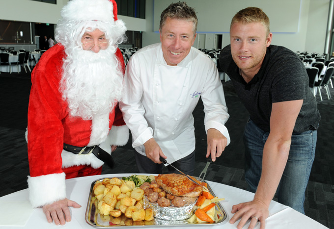 Freddie bowled over by The Point's Christmas menu