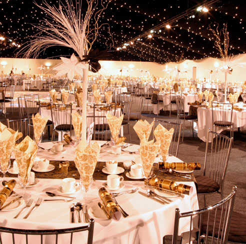 Golden Marquee at Old Trafford