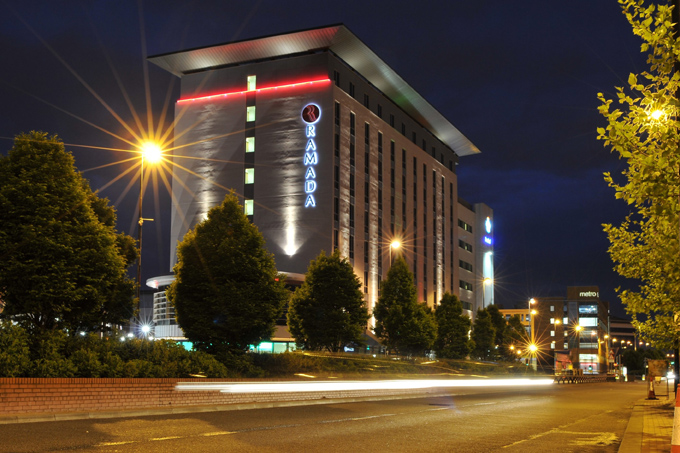 The Ramada hotel in Manchester