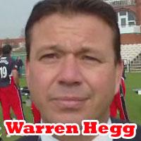 Warren Hegg talks to Cricket World® TV
