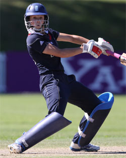 Caroline Atkins hits out against the West Indies