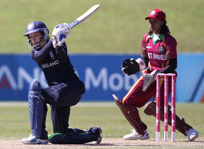England Women's Cricket - Sarah Taylor hits out for England