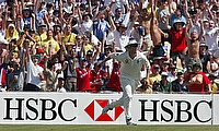 Matthew Hoggard in action for England in Australia