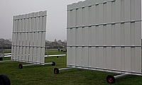 No club can make do without a sightscreen