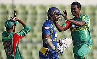 Shafiul Islam (left) has taken the place of Al-Amin Hossain (right)