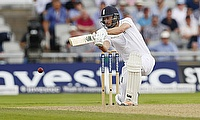 James Vince scored a brisk century for Hampshire
