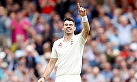 James Anderson picked nine wickets in the third Test against West Indies at Lord's