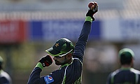 This will be the third time Mohammad Hafeez has been suspended from bowling