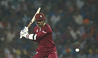 Marlon Samuels suffered a hand injury