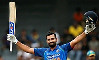 Rohit Sharma scored his third double century in ODIs