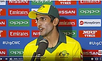 Cricket  World TV - Australia Captain on Loss of ICC U19s Final