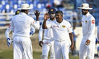 First Test between WINDIES and Sri Lanka - fourth day