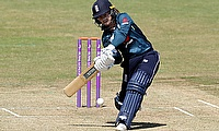 England's Tammy Beaumont in action