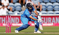 Rohit Sharma, India vice-captain, speaks with the Media
