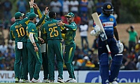 South Africa beat Sri Lanka by 4 wickets in 2nd ODI in Dambulla