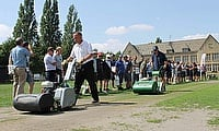 Dennis & SISIS event a hit with cricket groundsmen