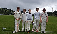 Rydal Penrhos pupils James Gilman, Cieran Milligan, Telor Jones, Harry Fardoe and Grace Watkins