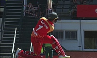 South Africa beat Zimbabwe by 4 wickets in the 3rd ODI and take Series 3-0