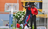 Carlos Brathwaite in action