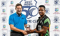 Super50 Cup - Leon Johnson audio - 1st semifinal