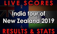 Live Cricket Streaming Scores - New Zealand v India 2019