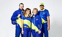 World Cup cricketeers unveil uniform for 4,000-strong volunteer workforce.