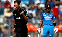 New Zealand's Trent Boult moves to 3rd in ODI bowling rankings