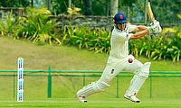 Sam Hain scored two half centuries in the first unofficial Test between England Lions and India A