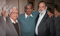 Friends Reunion - March 2013 - (L to R) - Gulraiz Wali, Riaz Mahmood and Arshad Bukhari.