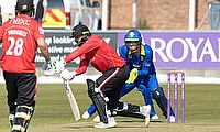 Reactions - Leicestershire's Dieter Klein 46, partnership with 81 with Tom Taylor, and 2-45.