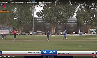 LIVE CRICKET - USA v Namibia ICC World Cricket League Division 2