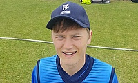 Today's centurian, YMCA captain and Leinster Lightning opener Jack Tector