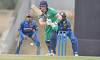 Shane Getkate for Ireland Wolves v Sri Lanka A in early 2019