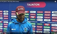 Runs win games - Shai Hope | West Indies