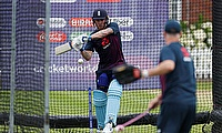 England's Jason Roy during nets