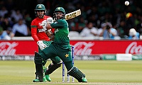 Pakistan's Imam-ul-Haq in action