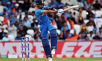 Virat Kohli in action