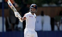 Dimuth Karunaratne led Sri Lanka from the front