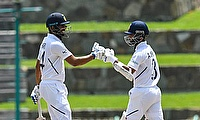 Ajinkya Rahane and Hanuma Vihari had a 100+ partnership