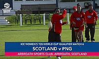 Scotland v PNG | ICC Women's T20 World Cup Qualifier
