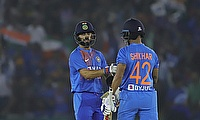 Kohli and Dhawan sealed the deal for India
