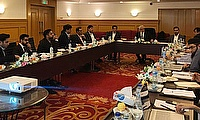 Chairman PCB presiding over the PSL Governing Council meeting