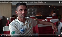 Standard Bank Proteas Keshav Maharaj spoke to the media ahead of the first Test
